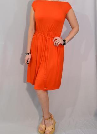 2116\50 морковное платье dorothy perkins xl1