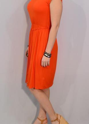 2116\50 морковное платье dorothy perkins xl3