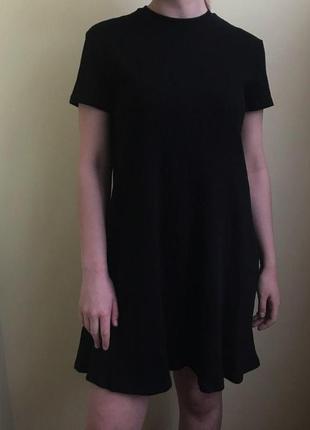 Черное платье zara1 фото