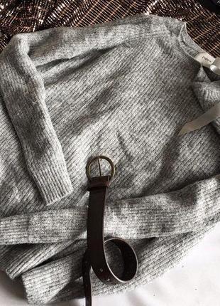 Стильний светр papaya із срібною ниткою 12/402