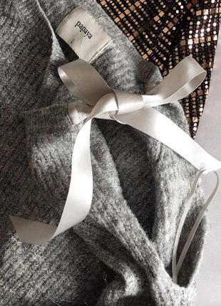Стильний светр papaya із срібною ниткою 12/404