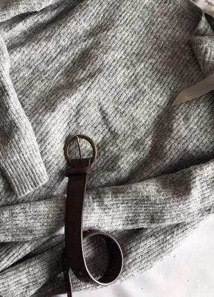 Стильний светр papaya із срібною ниткою 12/405