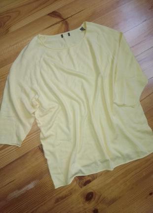 Модный желтый свитерок 44-46евро 50-52наш tcm tchibo3