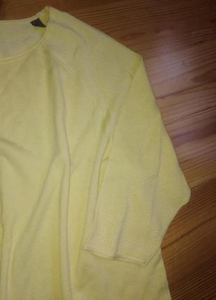 Модный желтый свитерок 44-46евро 50-52наш tcm tchibo4