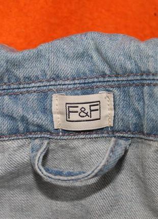 Трендовый женский джинсовый жилет  безрукавка, размер 84