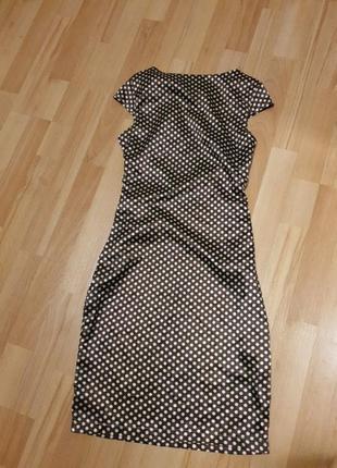 Летнее легкое платье в горошек2 фото