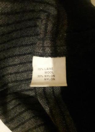 Актуальная прямая юбка шик шерсть с карманами5