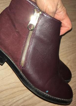 Ботинки pull and bear.