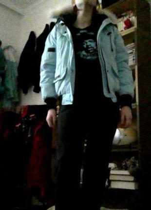 Женственная теплая куртка оригинал от canada goose привезена из испании5