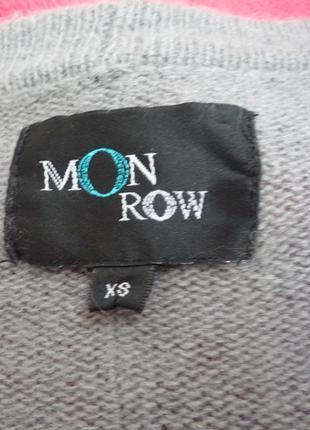 Теплый шерстяной кардиган / кофта / овечья шерсть lambswool  + ангора / monrow8