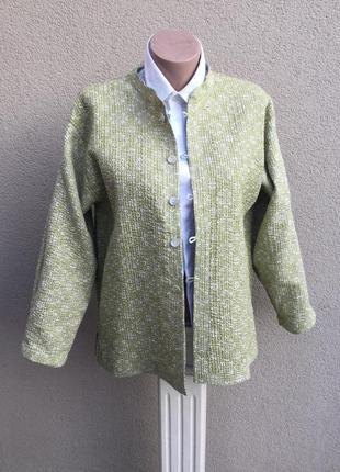 Двухсторонняя,стёганная,легкая куртка,жакет,пиджак,кардиган,хлопок,индия,эксклюзив,этно2 фото