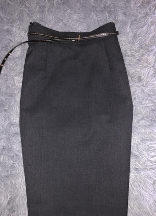 Шерстяная/модная/юбка карандаш от бренда gaddis5