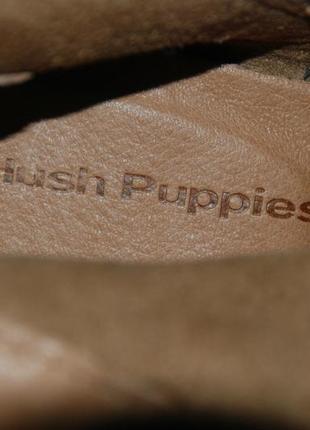 Полусапоги бренда hush puppies / размер 38.5/3