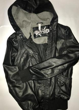 Куртка кож-зам denim co s/m1