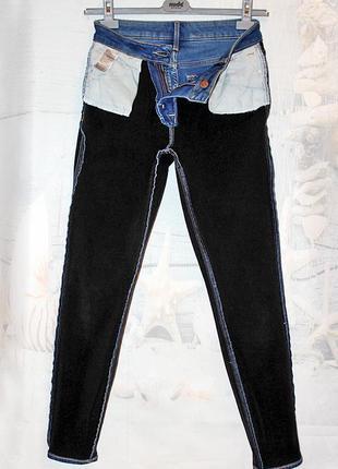 Американские уплотненные джинсы old navy super skinny bult-in warm оригинал7