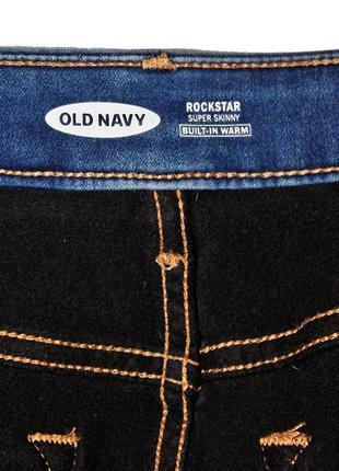 Американские уплотненные джинсы old navy super skinny bult-in warm оригинал8