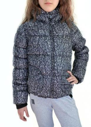 Куртка mexx девичья на девочку 140 152 10 11 12 серая дівоча демисезонная