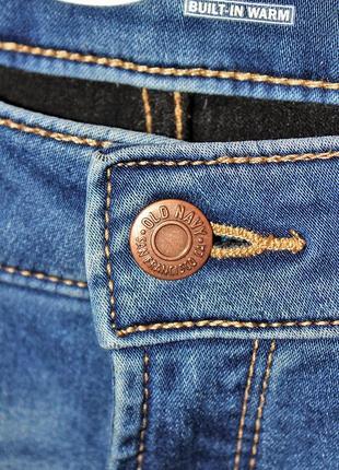 Американские уплотненные джинсы old navy super skinny bult-in warm оригинал6