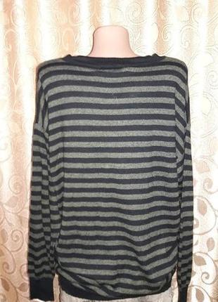 Красивая женская кофта, свитер в полоску marks & spencer5