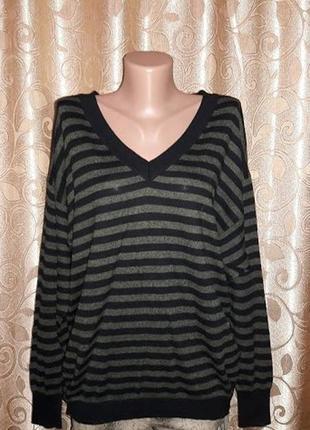 Красивая женская кофта, свитер в полоску marks & spencer1