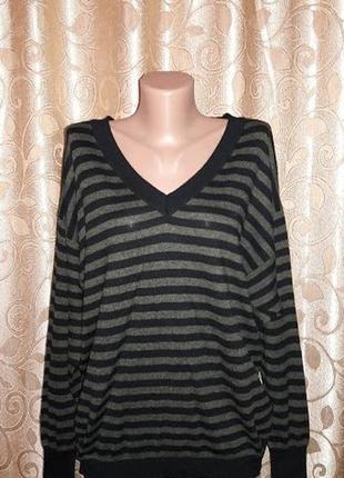 Красивая женская кофта, свитер в полоску marks & spencer3