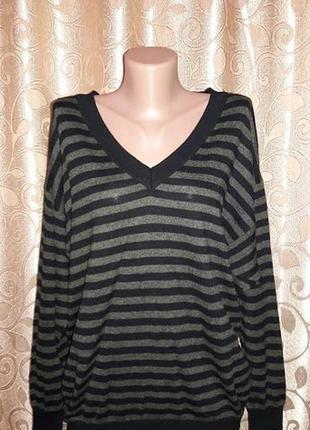 Красивая женская кофта, свитер в полоску marks & spencer2