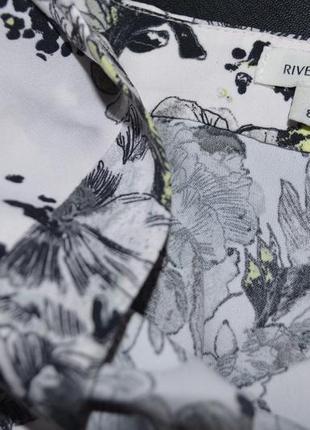 Платье пудра принт (без пояса) river island8