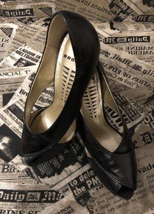 Кожаные открытые туфли bronx3