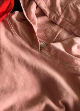 Ідеальне худі пудрового кольору h&m2