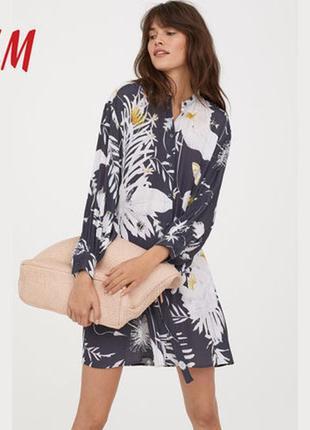 Платье рубашка h&m2 фото