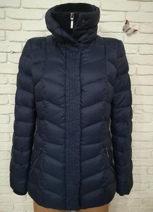 Качественная демисезонная пуховая курточка,р.s-m2