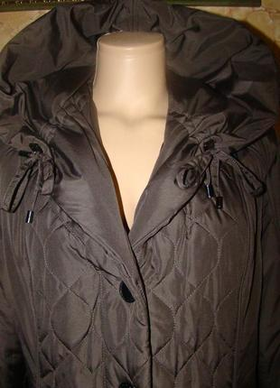 Демисезонная стеганая курточка emma pernelle р.442