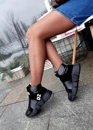 Ботинки женские демисезонные натуральная кожа3 фото