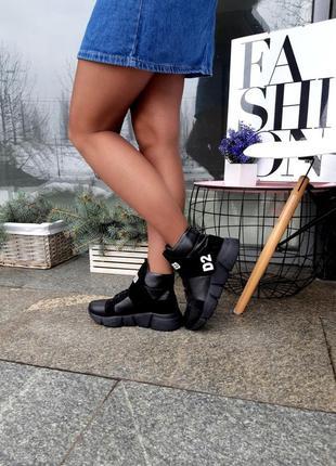 Ботинки женские демисезонные натуральная кожа7 фото