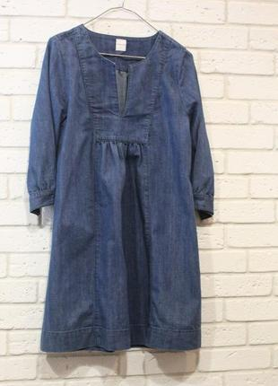 Джинсовое платье s