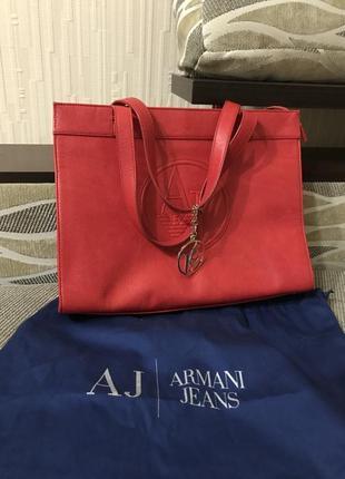 Фирменная сумка armani jeans оригинал1