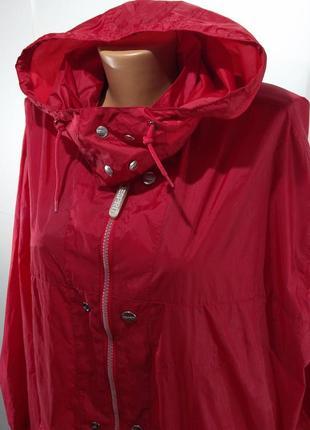 Женская ветровка sprit, дождевик без подкладки5