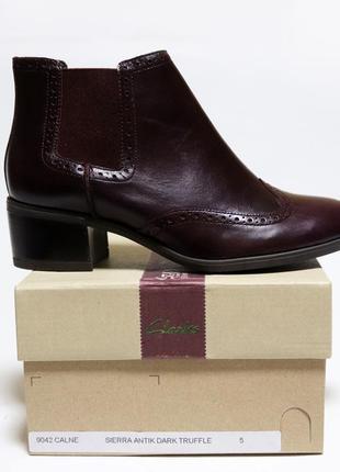 Ботинки челси clarks оригинал натуральная кожа 37-41,55