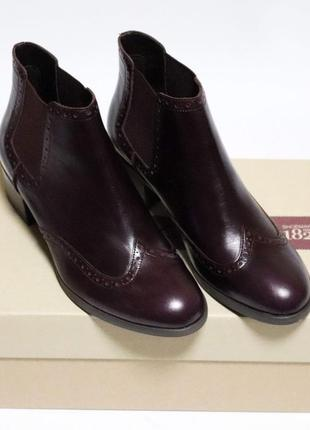 Ботинки челси clarks оригинал натуральная кожа 37-41,54