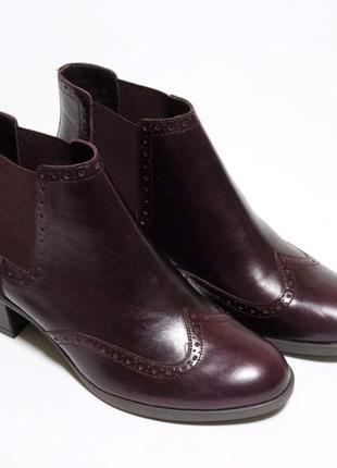 Ботинки челси clarks оригинал натуральная кожа 37-41,57