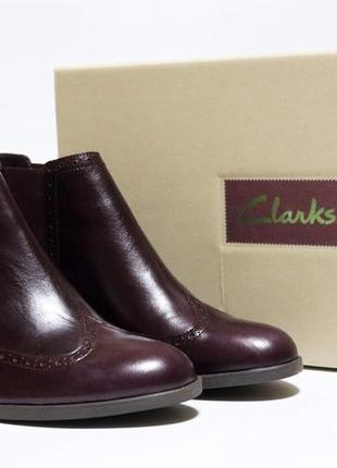 Ботинки челси clarks оригинал натуральная кожа 37-41,59