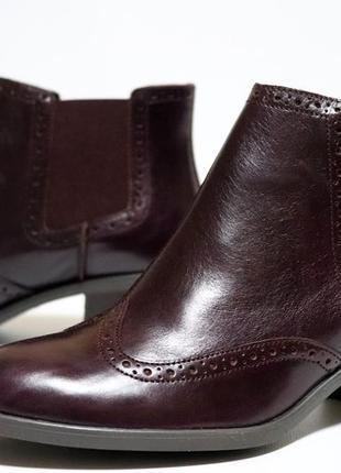 Ботинки челси clarks оригинал натуральная кожа 37-41,510