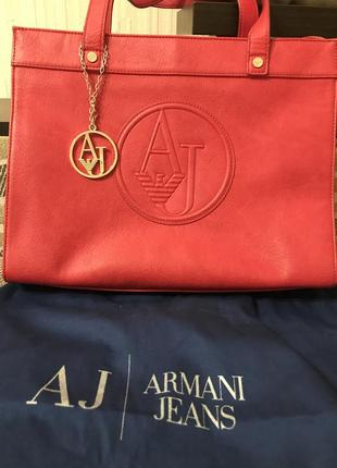 Фирменная сумка armani jeans оригинал2