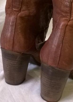 Качественные кожаные ботинки 40 р. 26 см. jones bootmaker утепленные, подошва freeflex4