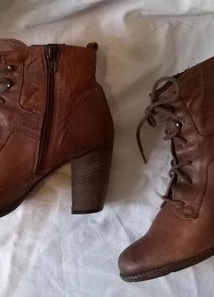 Качественные кожаные ботинки 40 р. 26 см. jones bootmaker утепленные, подошва freeflex5