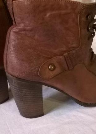Качественные кожаные ботинки 40 р. 26 см. jones bootmaker утепленные, подошва freeflex6