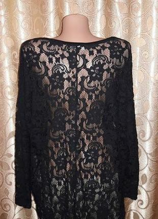 Красивая кружевная, гипюровая кофта, блузка vila clothes5