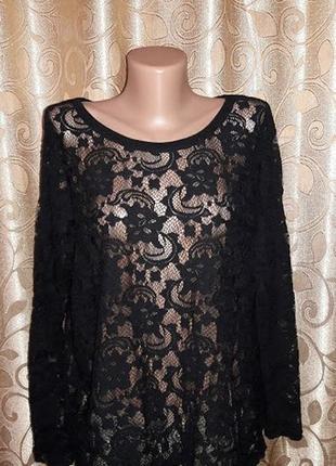 Красивая кружевная, гипюровая кофта, блузка vila clothes2