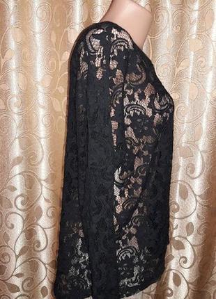 Красивая кружевная, гипюровая кофта, блузка vila clothes4