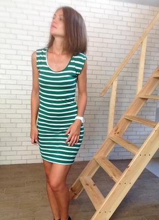 Платье в полоску s vero moda